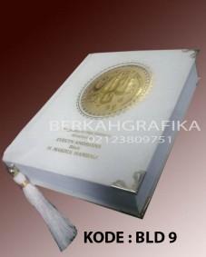 buku yasin beludru putih