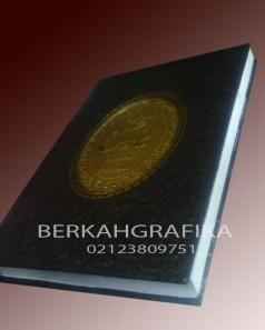 buku yasin hardcover lux embos hitam (beirut 5)