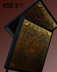 buku yasin hardcover lux biru (beirut 11)