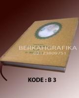 buku yasin hardcover lux kuning (beirut 3)