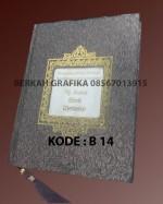 buku yasin hardcover lux motif embos floral ada nama (beirut 14)