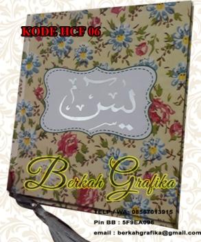buku yasin floral 6
